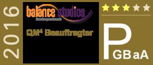Balance-Studios - QM4 Beauftragter PGBaA 2016